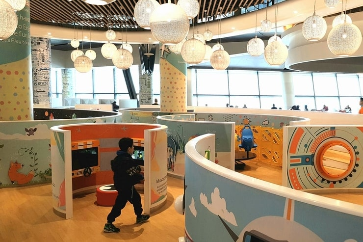 airport kids area