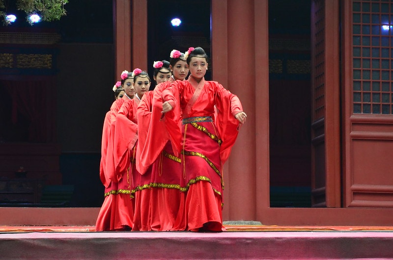 traditional dance confucius temple