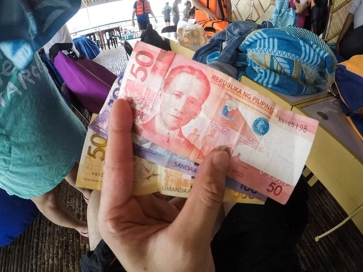 cash from the philippines