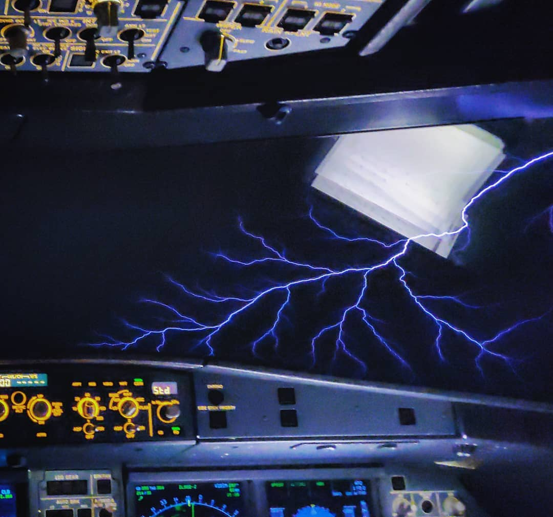 thunder from the cockpit