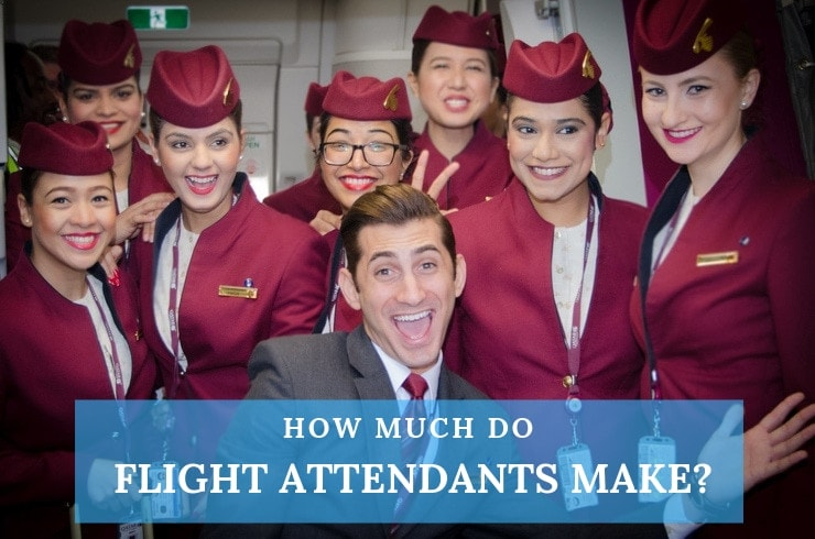 flight attendants salaries