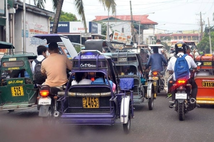 trafic in the philippines