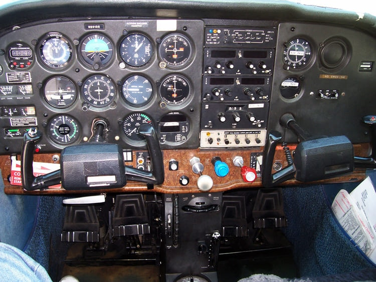 instrument rating cockpit