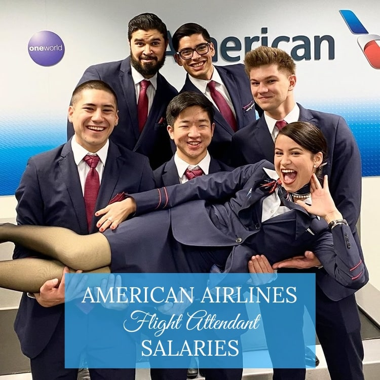 american airlines flight attendant salaries