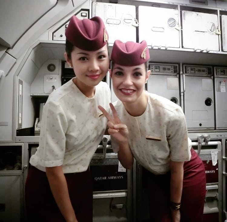 cabin crew friends