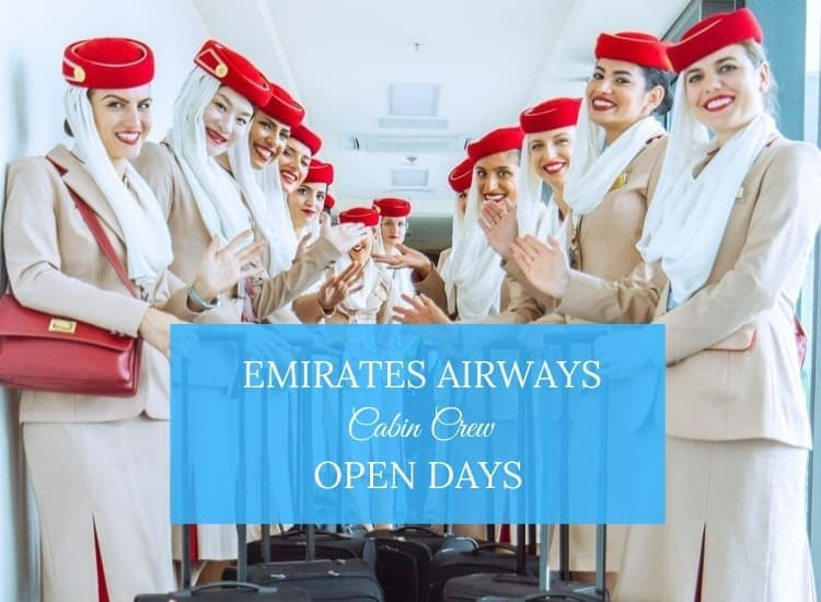 emirates cabin crew open day
