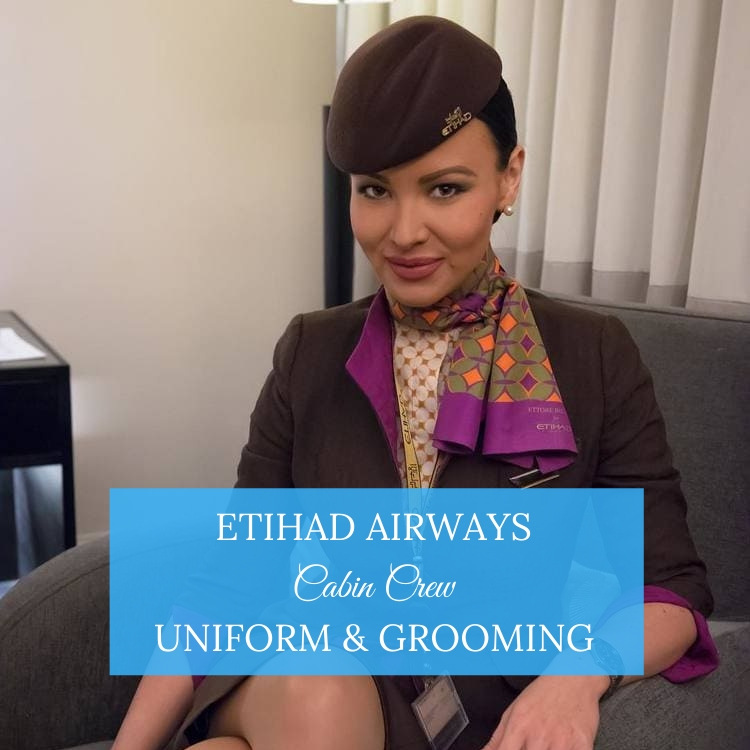 etihad cabin crew uniform and grooming