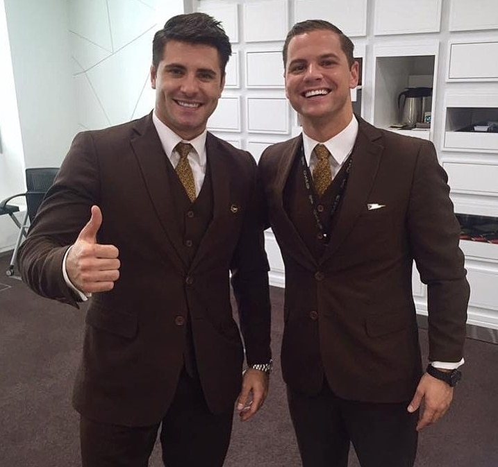 etihad male uniform