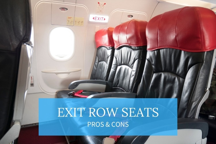 exit row seats pros and cons