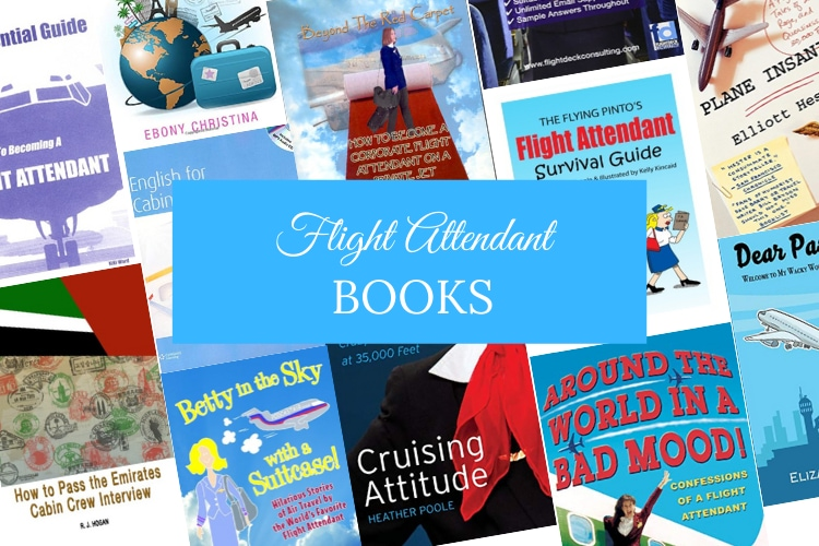 flight attendant books