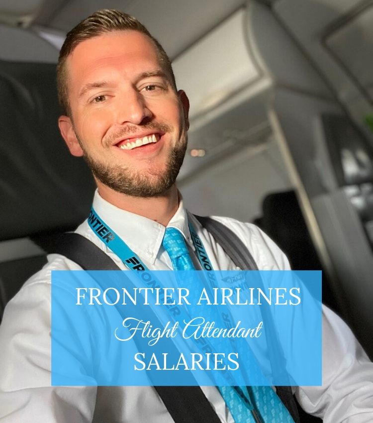 frontier airlines flight attendant salaries