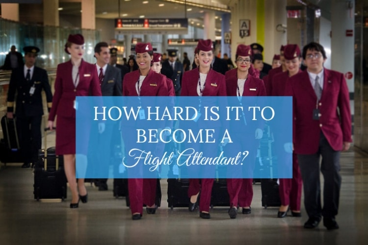 how hard is it to become a flight attendant