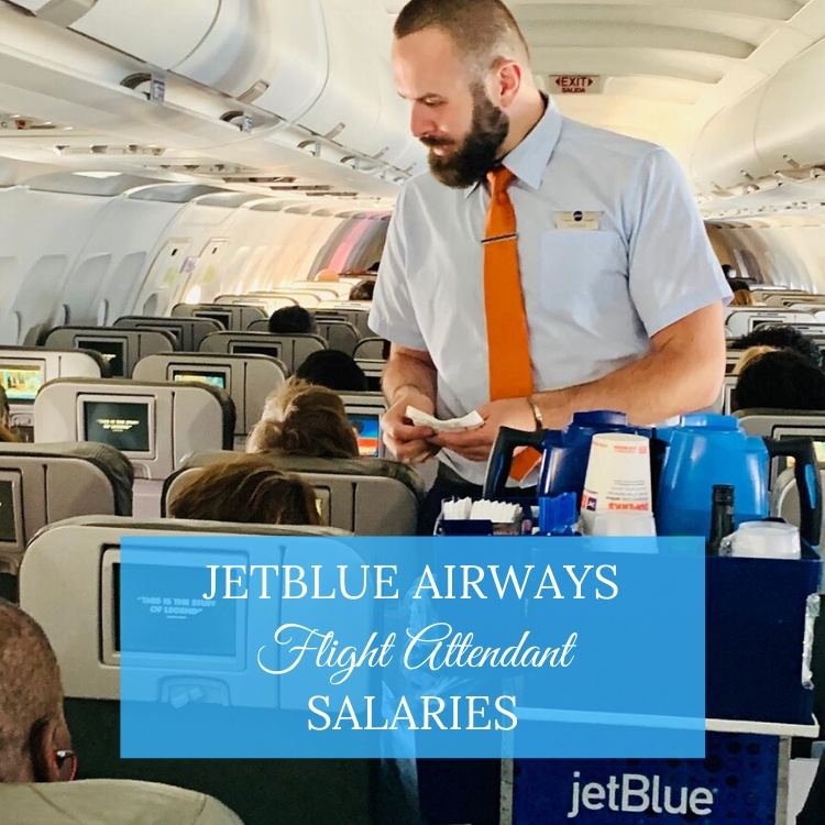 jetblue flight attendant salary