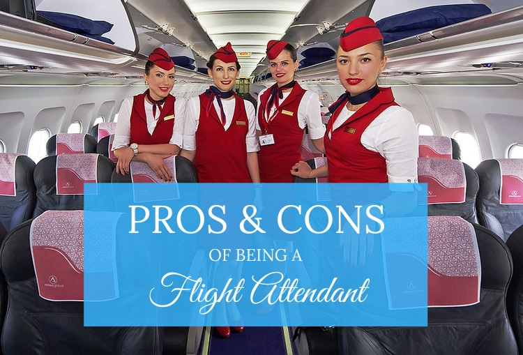 pros & cons being flight attendants