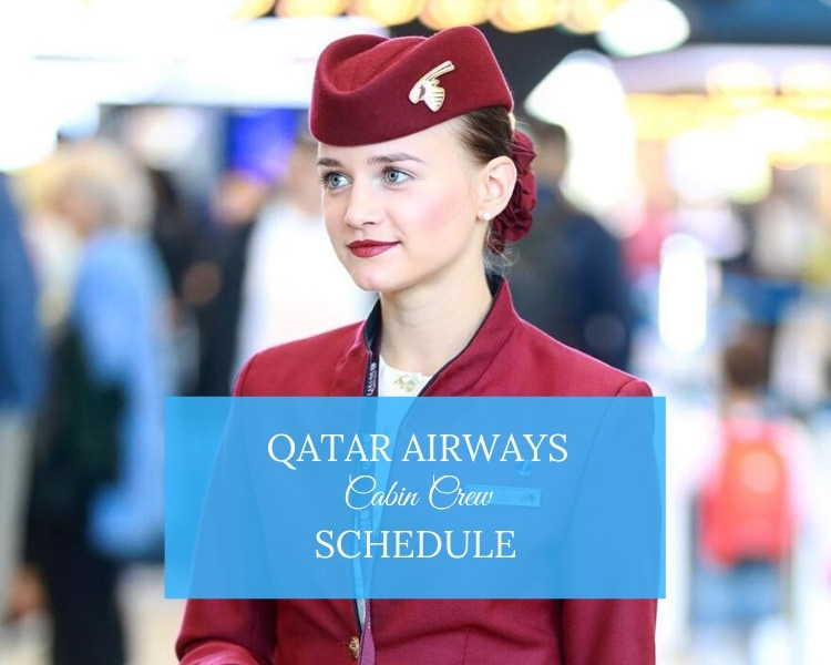 qatar airways schedule & roster
