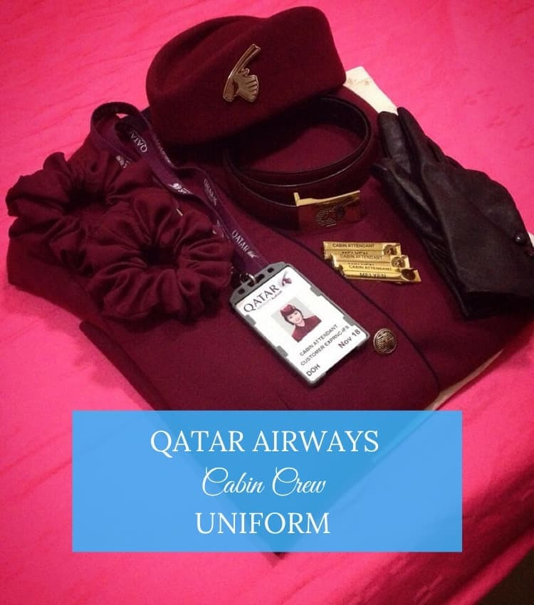 qatar airways uniform
