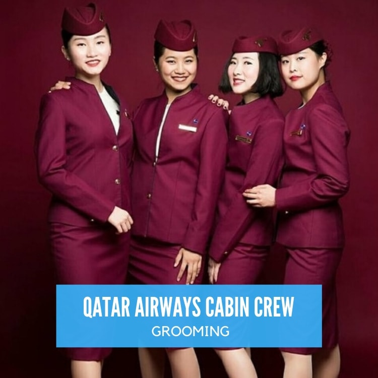 qatar airways cabin crew grooming