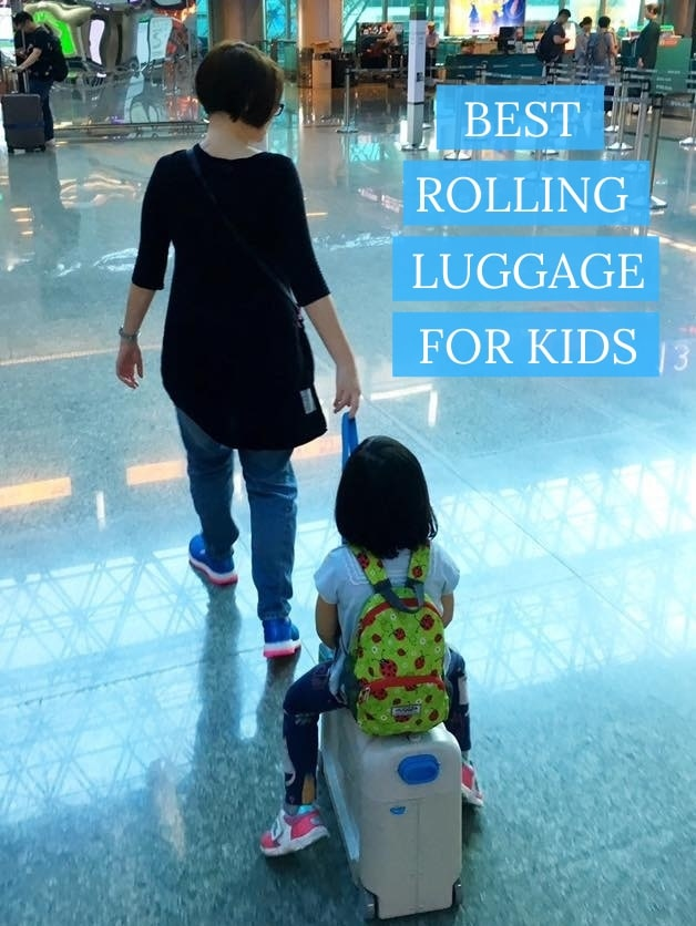rolling luggage for kids