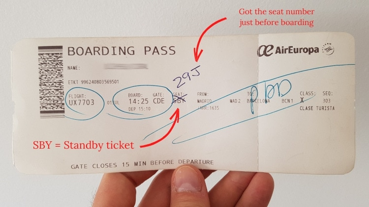 standby ticket explained
