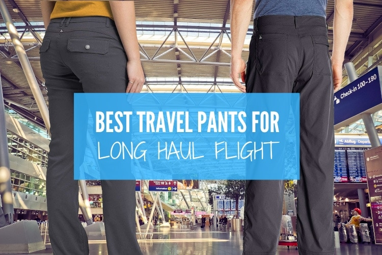 travel pants air travel